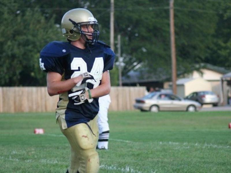 Sacred Heart High wide receiver Aaron Wedel