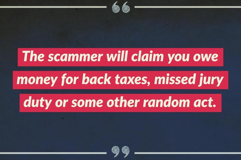 big trouble scam
