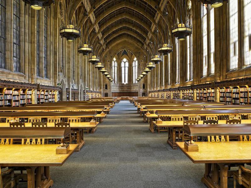 University of Washington's Suzzallo Library