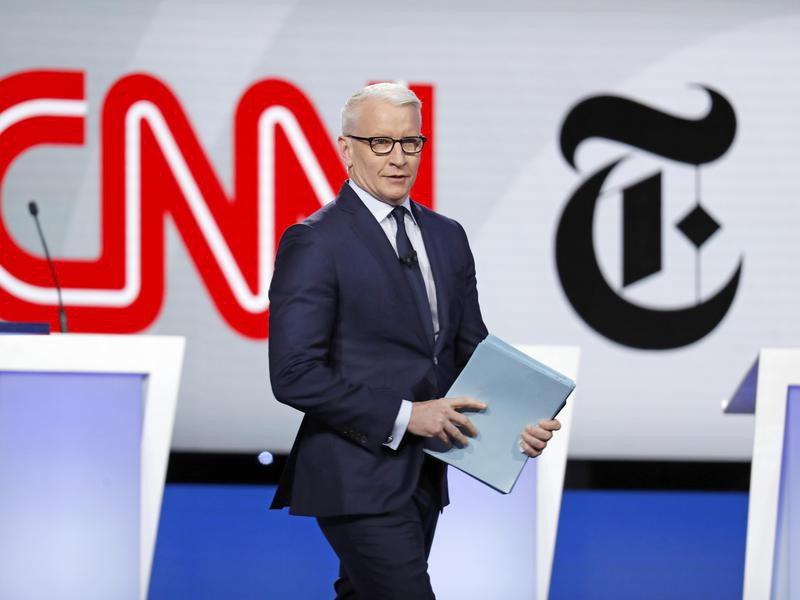 Anderson Cooper Democratic Debate