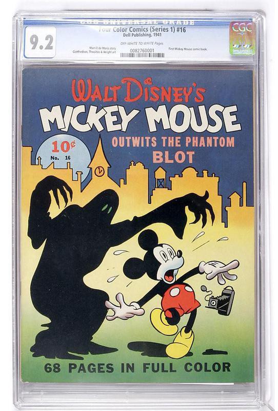 Walt Disney's Mickey Mouse No. 16