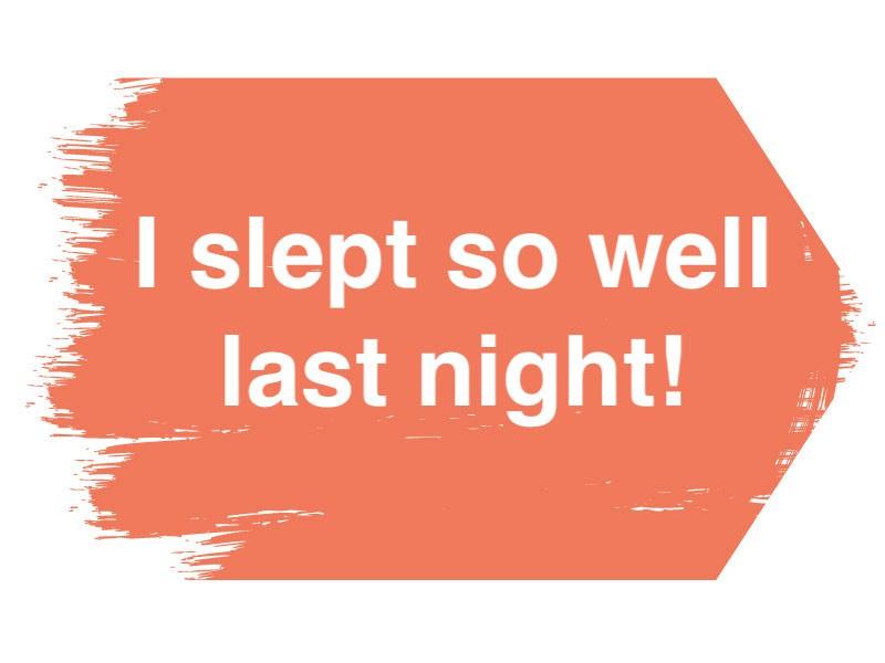 Sleep bragging