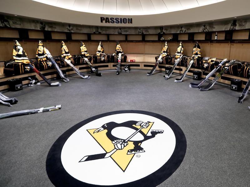 Penguins Locker Room