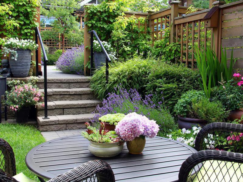 Mix Real Plants With Faux Foliage