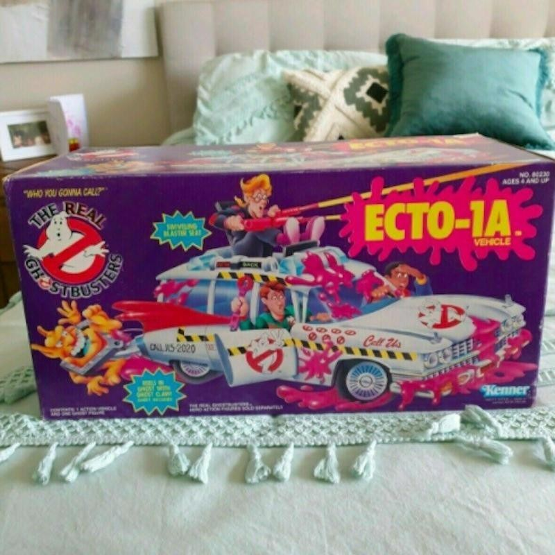 Real Ghostbusters ECTO-1A box
