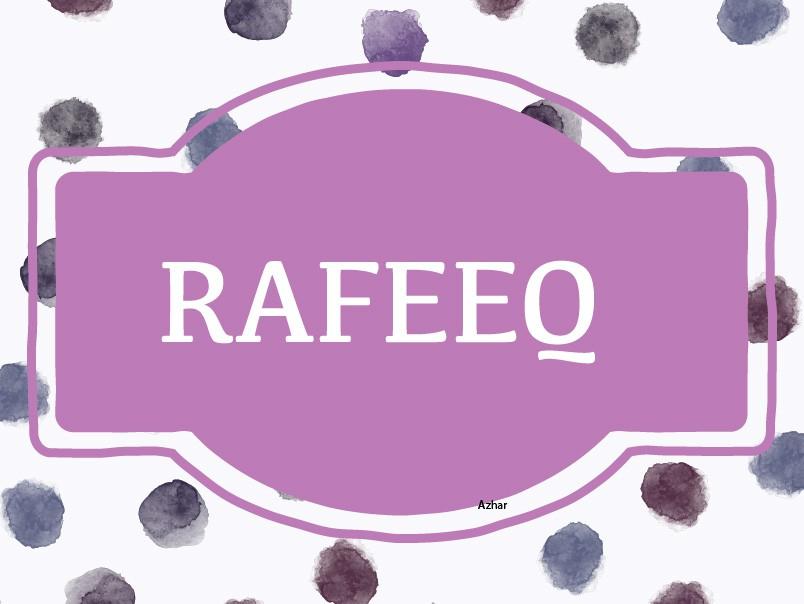 Rafeeq