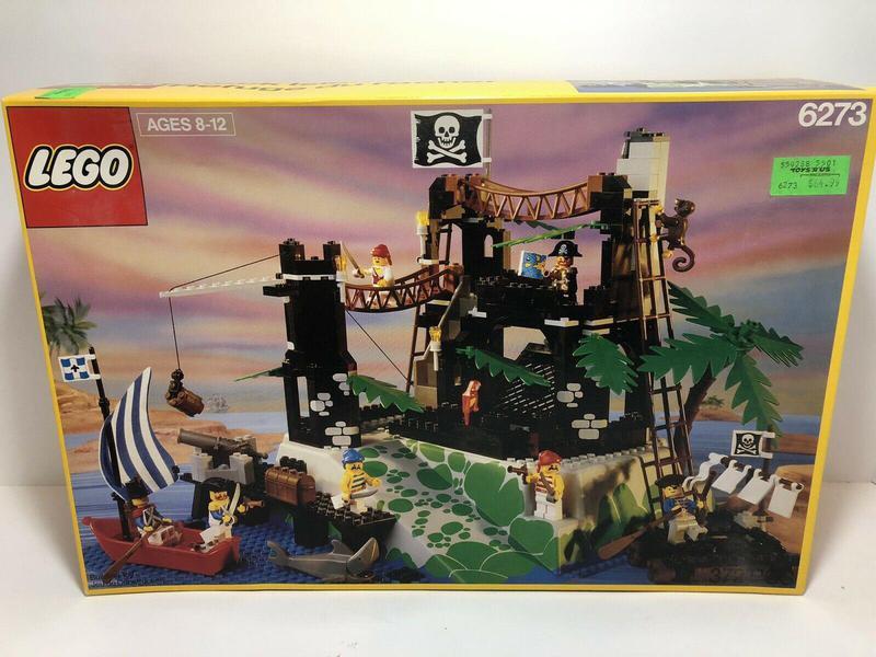 Rock Island Refuge Lego set