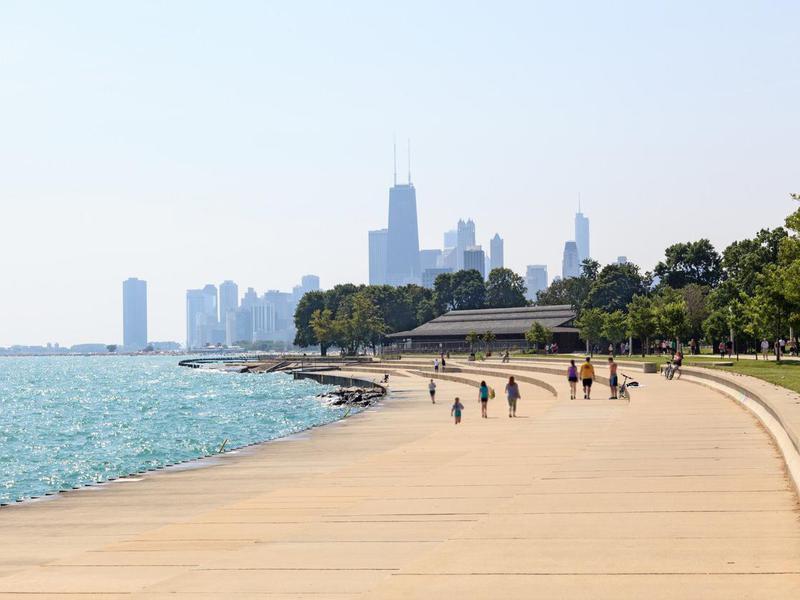 Chicago beachfront