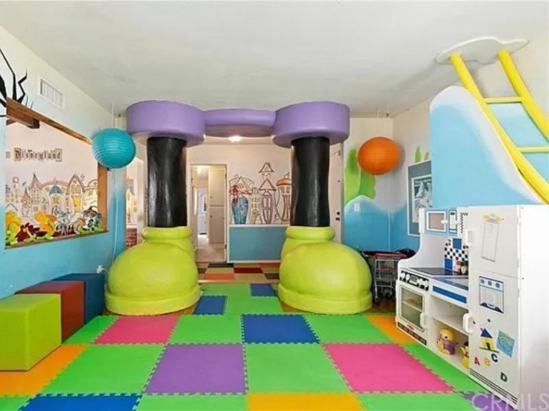 Disney-themed house in California