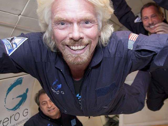 Richard Branson space tickets
