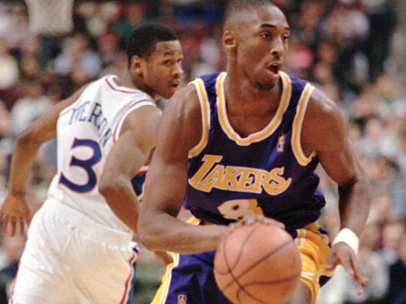Kobe Bryant and Allen Iverson
