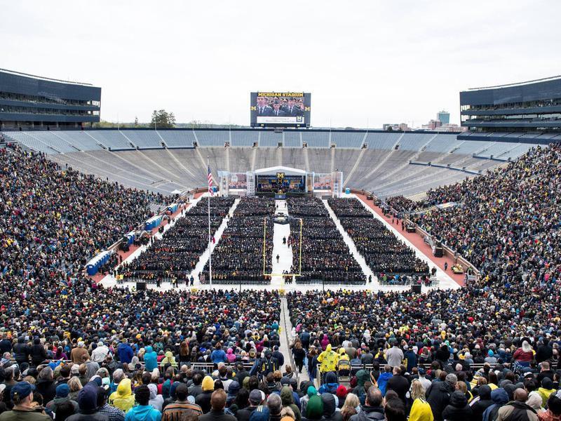 Stadium at University of Michigan Ann Arbor
