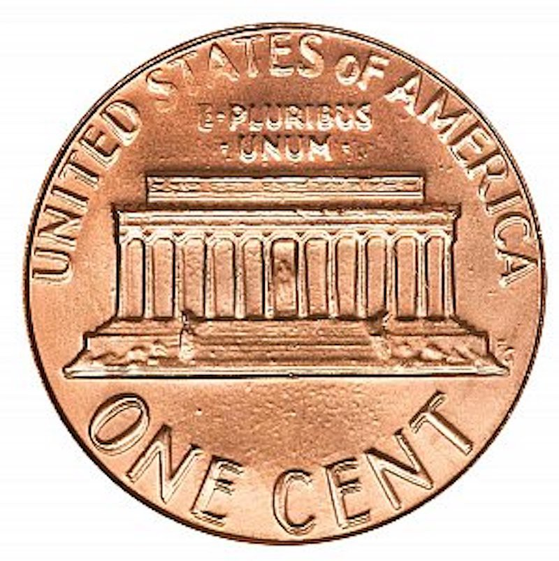 1983 Lincoln Memorial Cent (Doubled Die Reverse)