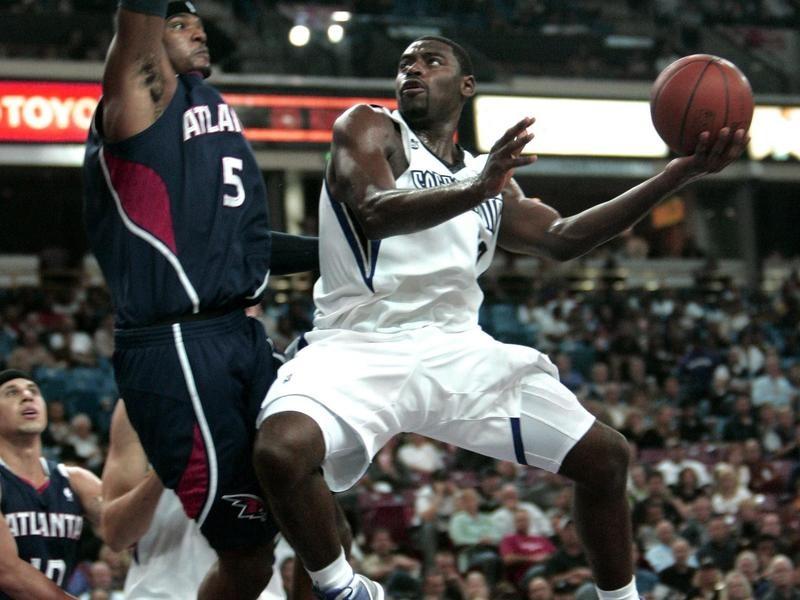 Sacramento Kings guard Tyreke Evans