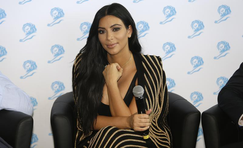 Kim Kardashian attends the Cannes Lions 2015, International Advertising Festival in Cannes