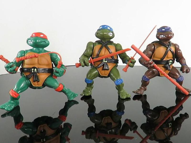 Teenage Mutant Ninja Turtles Figurines