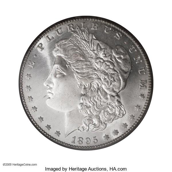 1895-O silver dollar