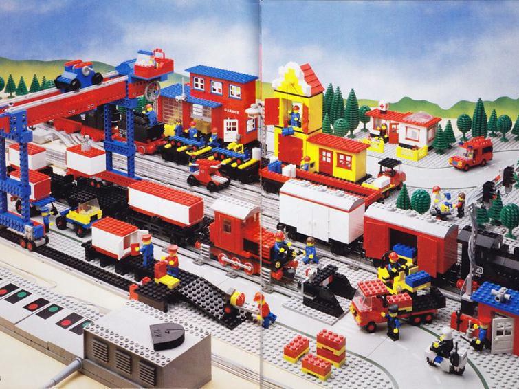 The LEGO Train Set