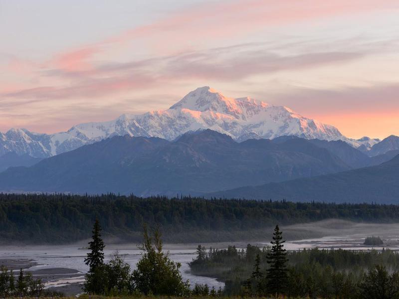 Denali sunrise, Alaska USA