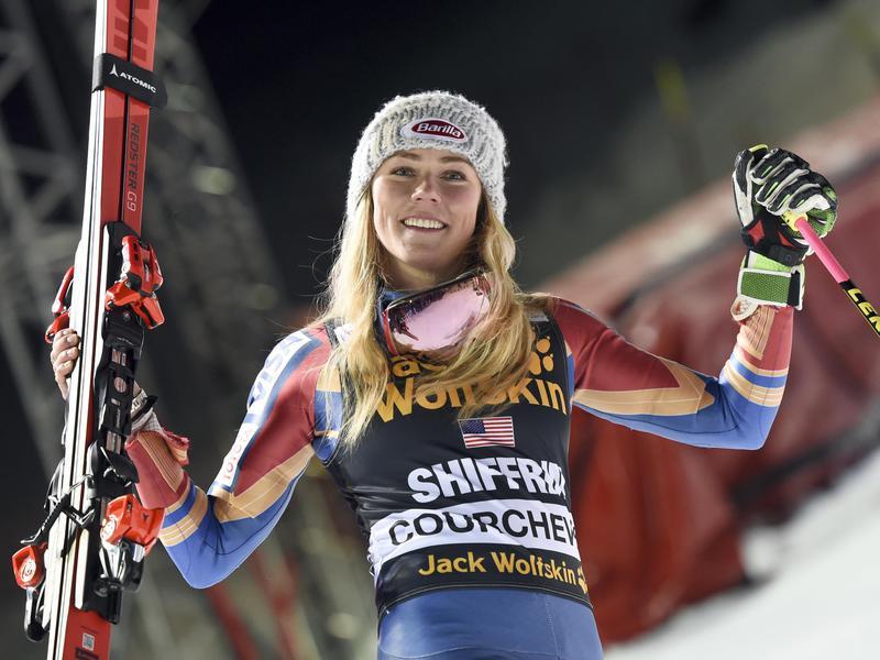 Mikaela Shiffrin of the United States