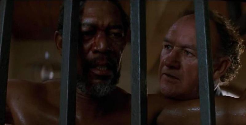 Morgan Freeman and Gene Hackman in Unforgiven