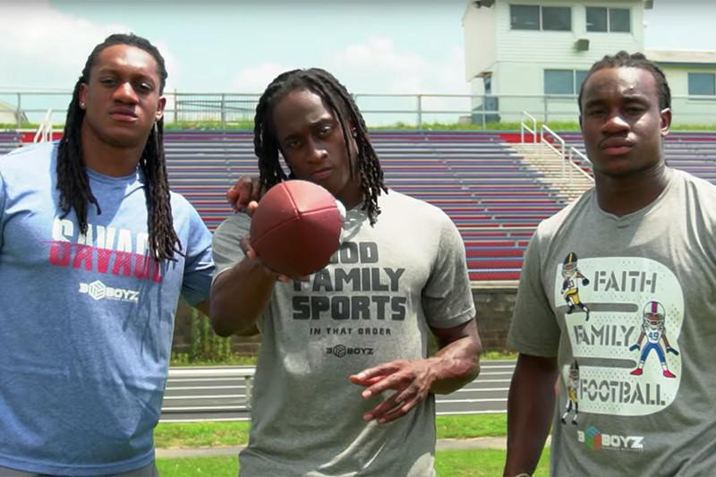 Tremaine, Terrell and Trey Edmunds