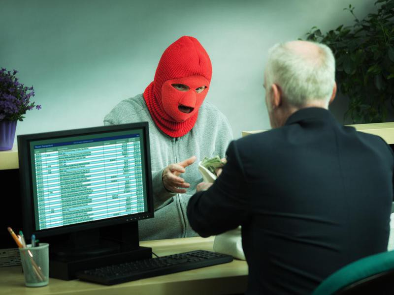 Bank Robber Funny US Laws