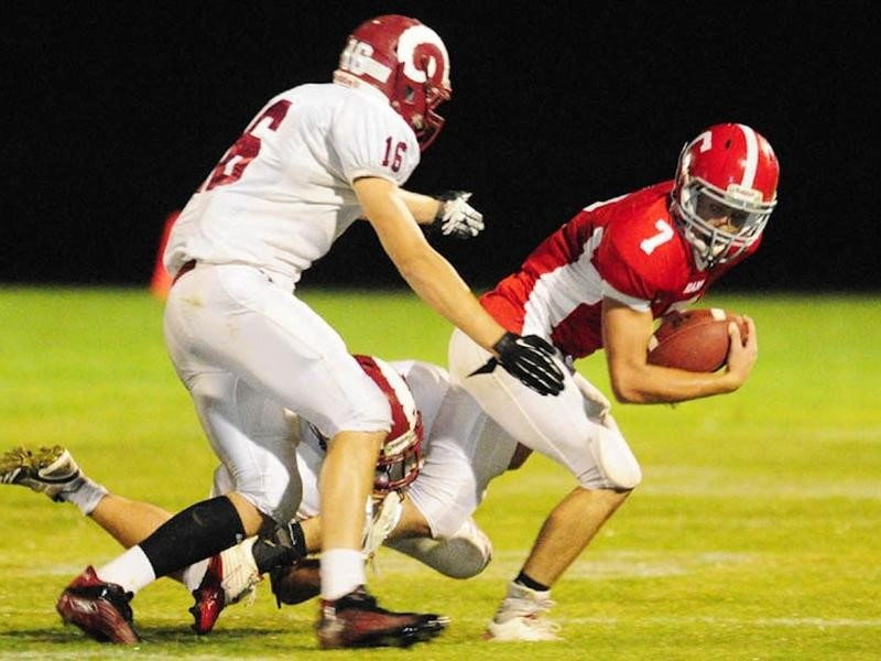 Cony High wide receiver Chase Shostak