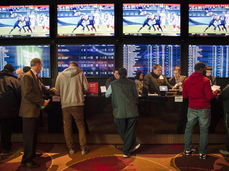 Gamblers in Philadelphia