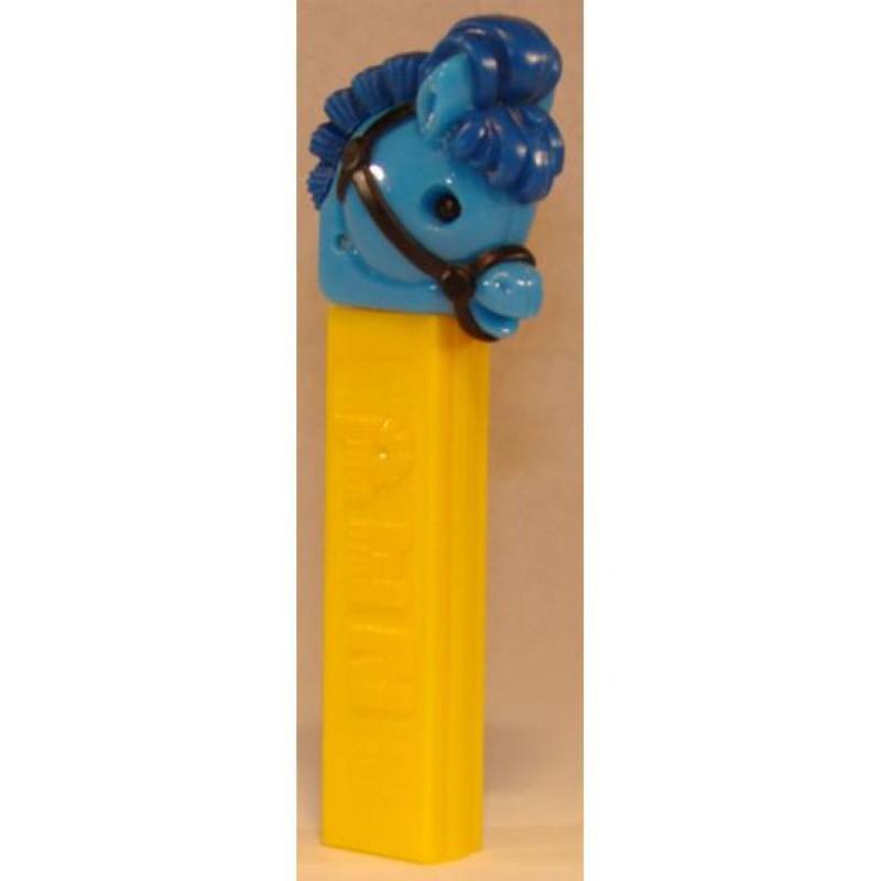 Pez Pony Go Round Blue with black bridle