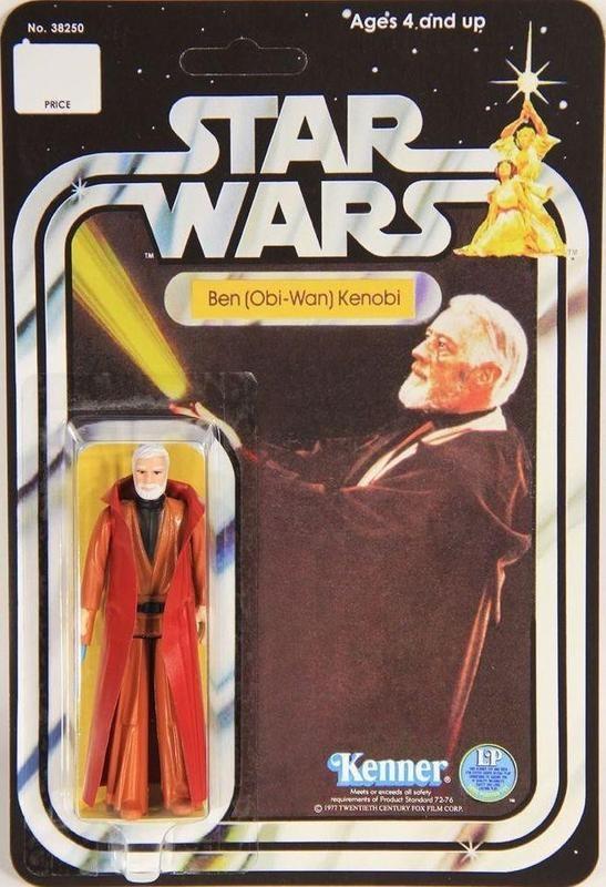 Obi-Wan Kenobi With Double-Telescoping Lightsaber (1977)