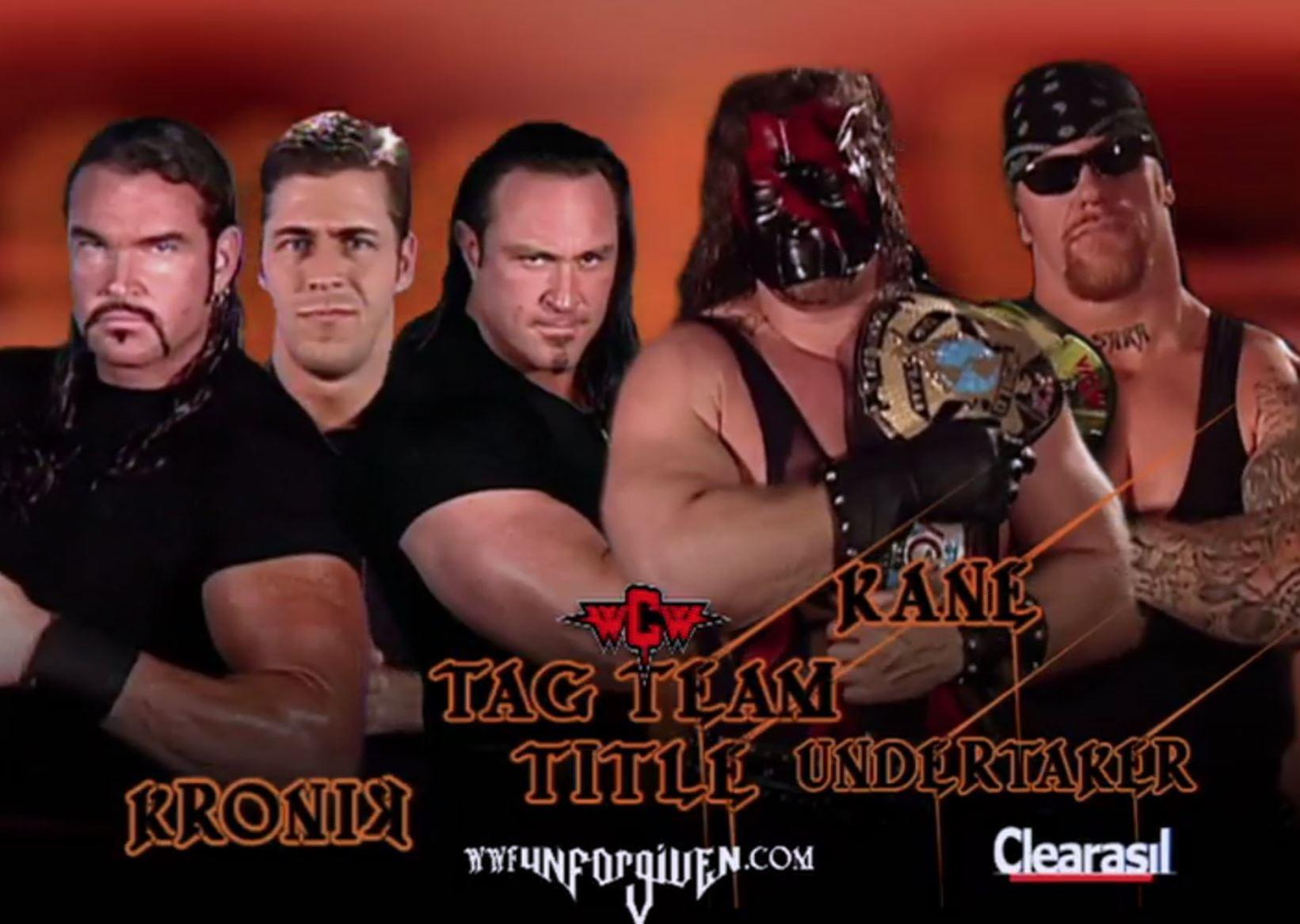 KroniK vs. Brothers of Destruction match card