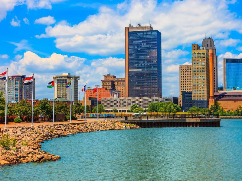 Toledo skyline, Ohio