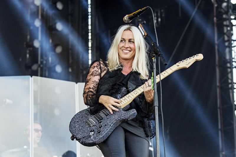 Alanis Morissette performs at KAABOO in San Diego, California, in 2017.
