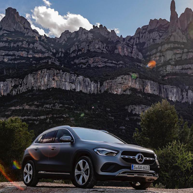 Mercedes-Benz on social media