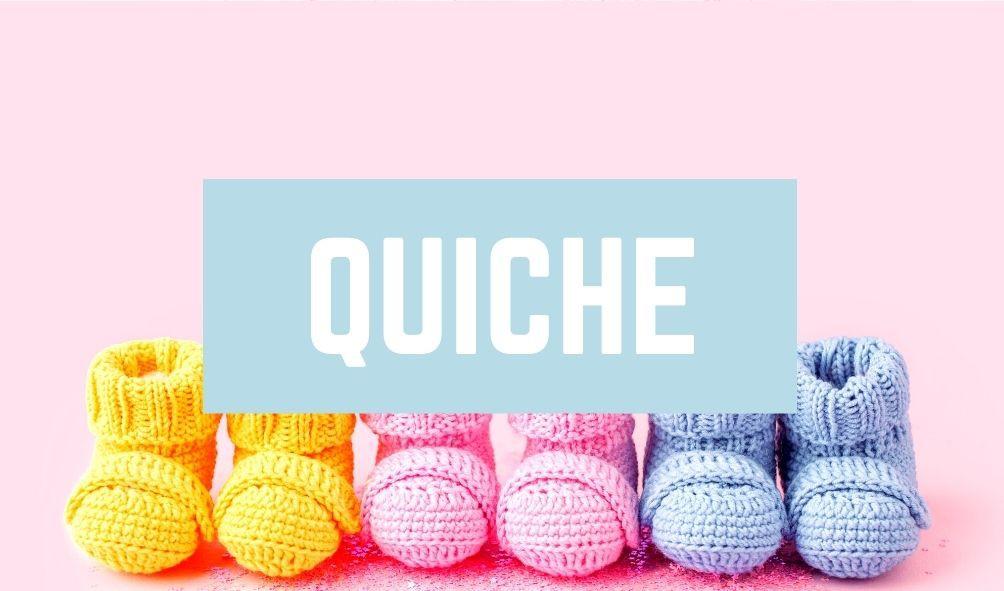 Worst Baby Names: Quiche