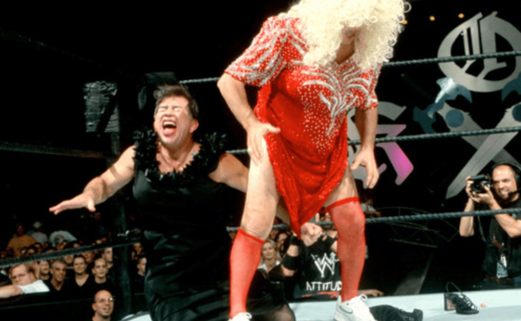 Gerald Brisco vs. Pat Patterson Evening Gown Match