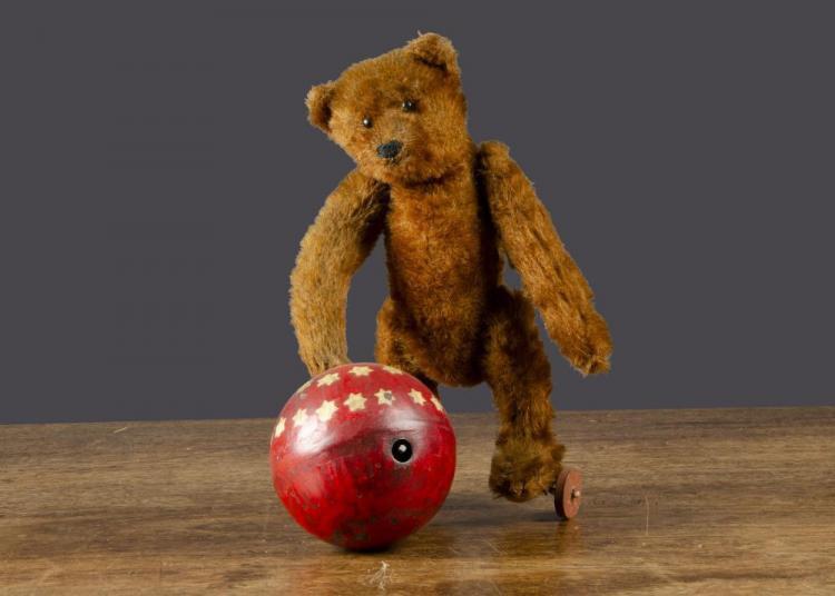 Bing Clockwork Teddy With Ball