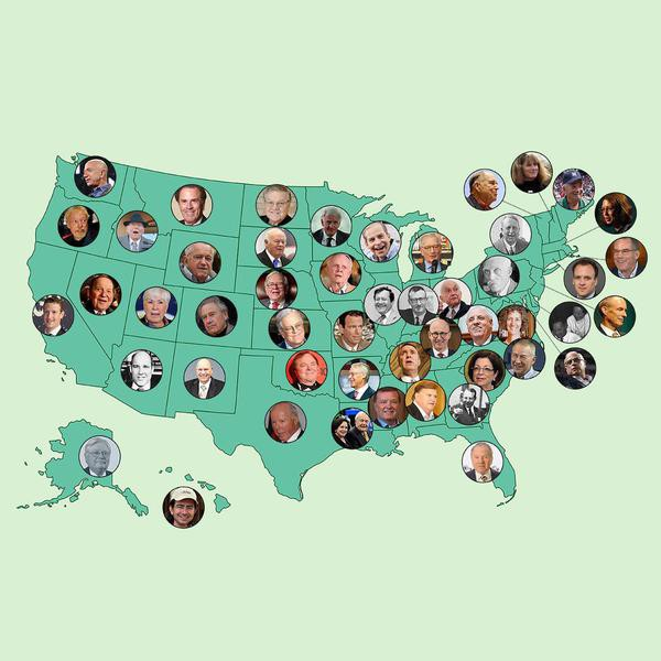 The 50 Richest American Families by State
