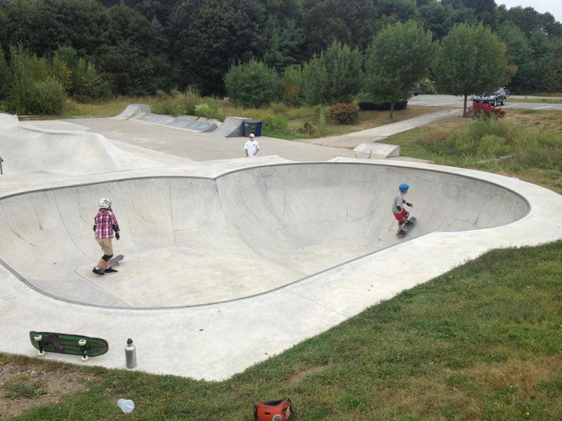 Hampton Skate Park in Hampton, New Hampshire