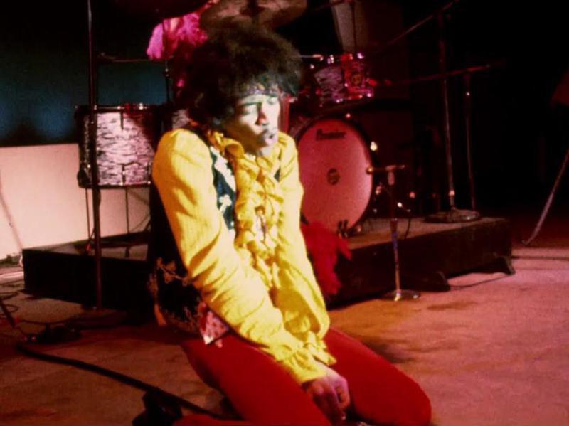 Jimi Hendrix at the Monterey Pop Festival