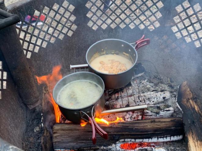 Bulin camping cooking set