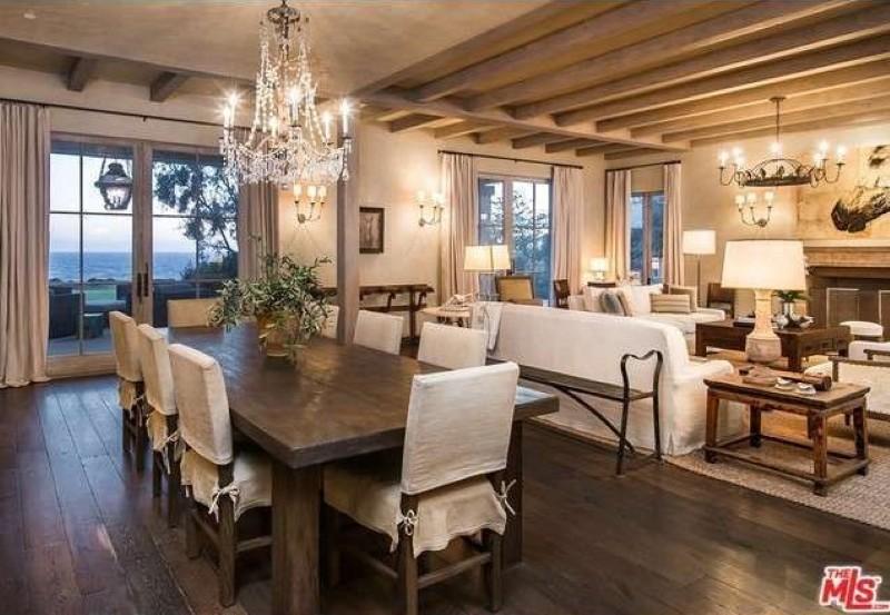 Lady Gaga's dining room