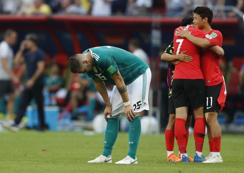 Germany, gets upset by South Korea
