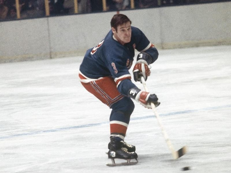 Tim Horton with the New York Rangers