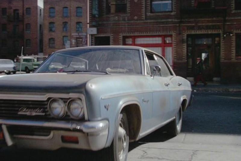 24. 1966 Chevrolet Impala, AKA The Blue Ghost