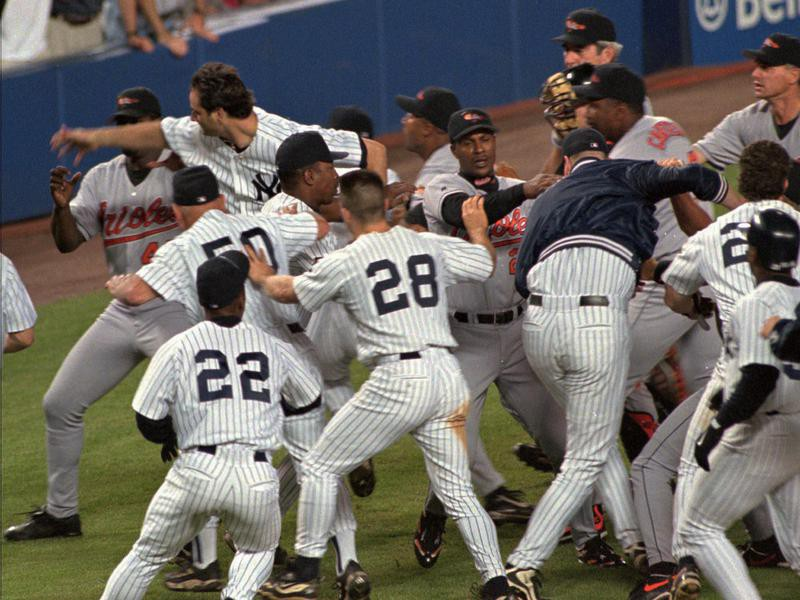 New York Yankees and Baltimore Orioles