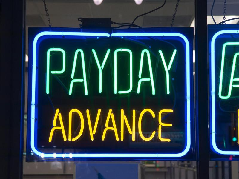 Taking out payday loans