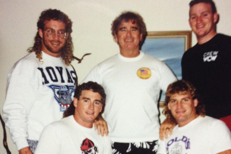 Bob Armstrong and sons
