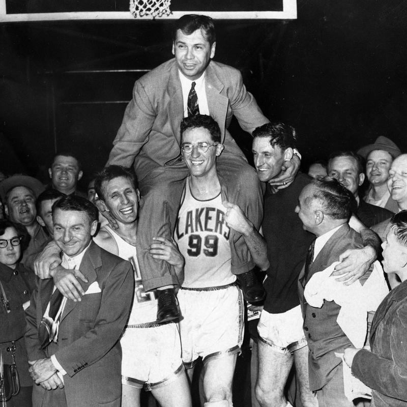 John Kundla and the Minneapolis Lakers